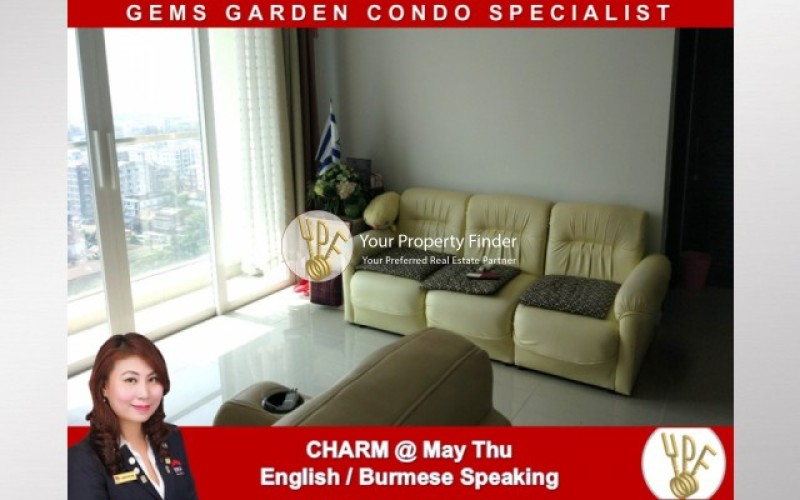 LT1902005593: 2 Bedrooms unit for rent in GEMS Condo. image