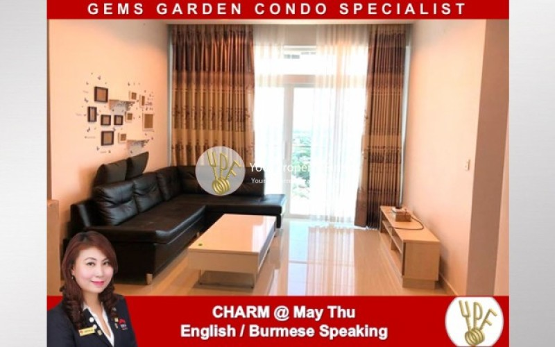 LT1908006068: 2 bedrooms unit for rent in GEMS condo image