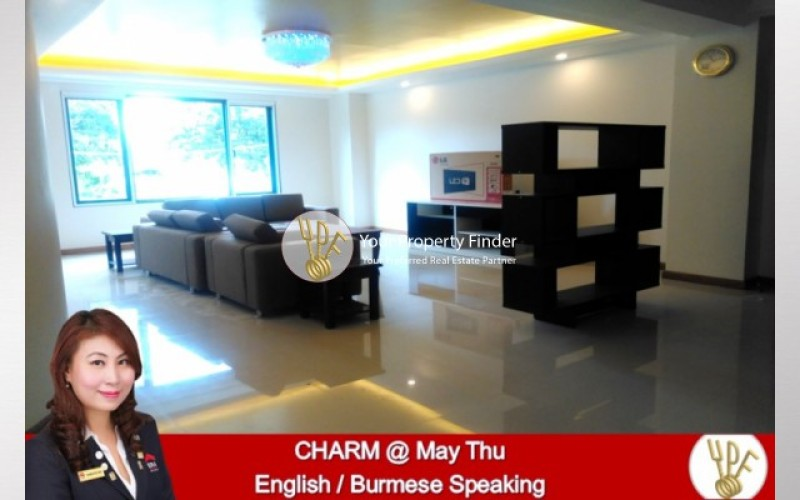 LT1804001007: 3 BR unit for rent in condo Kamaryut. image